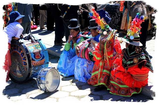 On the road to Titicaca, Bolivia - celebrations for independence Day ©vcsinden2010