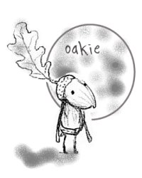 Oakie with the Moon
