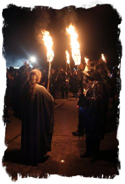 Torch Procession, Hunters Moon Wassail ©vcsinden2012