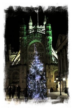 Bath Abbey in December ©vcsinden2012