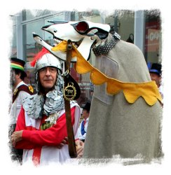 The Thameside Mummers perform at the Faversham Hop Festival  ©vcsinden2012