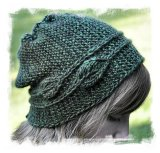 Hand Knit hat ©Circe Belles Boucles at Ravelry