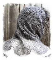 Hand Knit Cowl 'Ice Queen' © Rosemary Hill at Ravelry