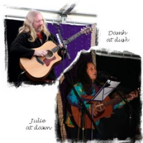 Dusk & Dark & Dawn – Julie Felix and Damh the Bard ©vcsinden2013