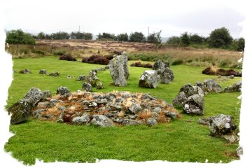 Beaghmore, Tyrone - cairns and circles discovered under peat ©vcsinden2013