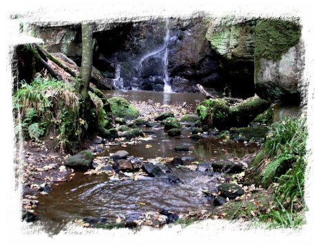 Faery waterfall, a pagan place, Northumberland ©vcsinden2013