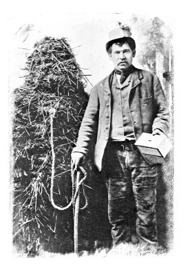 Whittlesey Straw Bear Historic photo from Journal of the Folklore Society 1909
