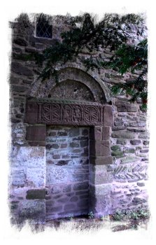 Bredwardine Church, Saxon Doorway, Herefordshire ©vcsinden2014