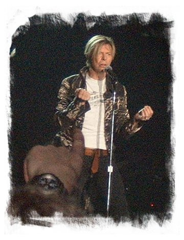 David Bowie – Wembley Arena November 2003 ©vcsinden2003