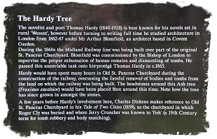 The Hardy Tree at St Pancras old Church, London ©vcsinden2016