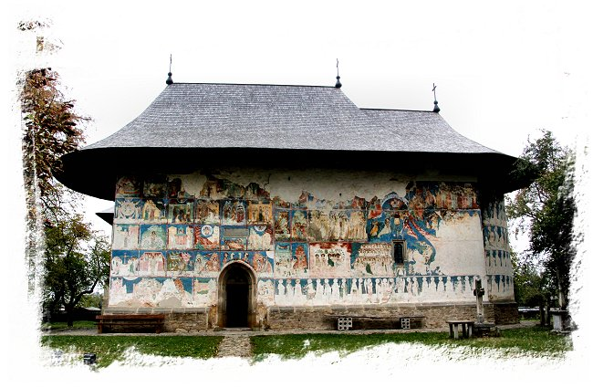 Painted Monasteries of Romania - Arbore Church ©vcsinden2016