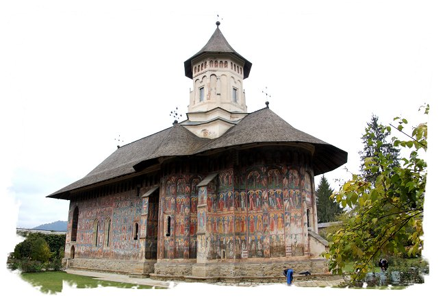 Painted Monasteries of Romania -  Moldovita  ©vcsinden2016