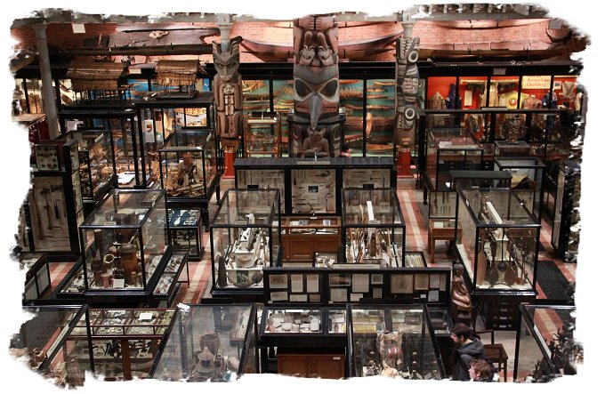 The Pitt Rivers Museum, Oxford.  ©vcsinden2017