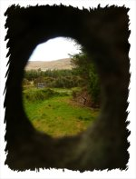 A hole for magick scrying by moonlight. Folklore reigns supreme in Glencolmcille