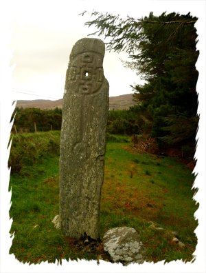 Cloch an Aonaigh or the Stone of the Gathering - folklore, magical standing stone