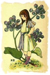 Ivy Girl by Nellie Benson 1901