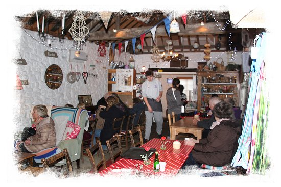 Great Comp, cosy tearooms open for lunch at the Snowdrop Fair –©vcsinden2015
