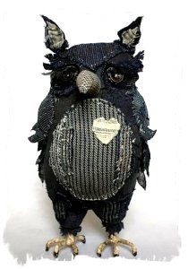 Sri Owl - handmade by Ann Wood