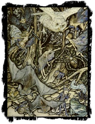 The other side of the Wood - Arthur Rackham