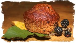 Blackberry Muffin - Hedgerow cooking