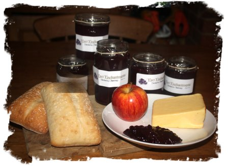 Damson and Ginger Chutney