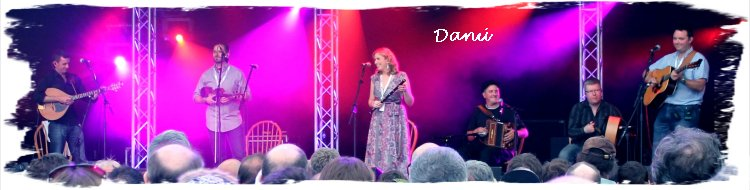 Danu - irish Folk Band at the Cambridge Folk festival 2011