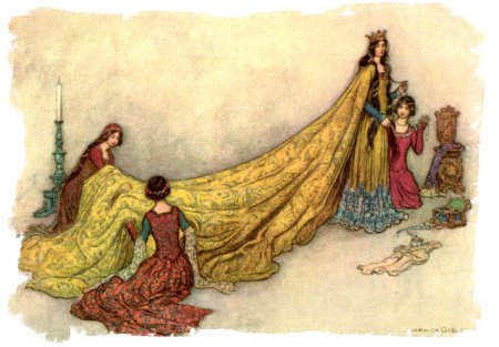 Warwick Goble - 'Dressing a Queen'