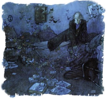 Edmund Dulac - 'The Entomologist's Dream'