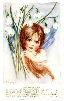 Snowdrop child - Milicent Sowerby