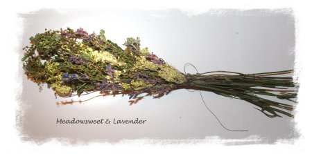 Smudging - meadowsweet & lavender ready for binding ©vcsinden2012