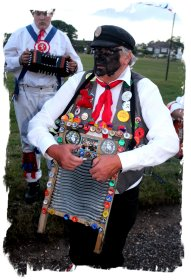Dead Horse Morris and the washboard player