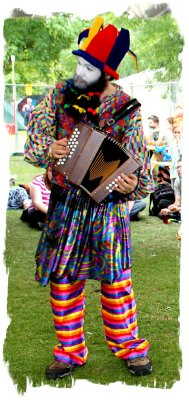 Cambridge Folk Festival - accordion player from Gog Magog Molly ©vcsinden2011
