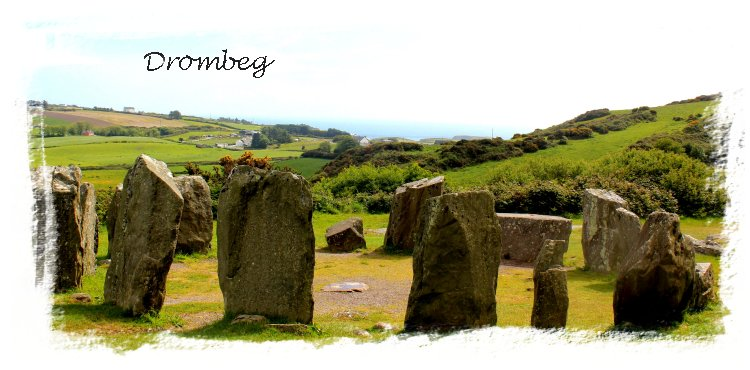 Drombeg Stone Circle, Cork, Ireland Island Wedge Tomb, Cork, Ireland ©vcsinden2011