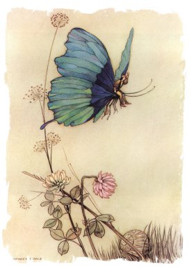from 'The Fairy Book' - Tom Thumb - Warwick Goble